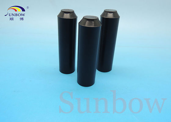 Black Polyolefin Heat Shrink End Cap Cable Accessories