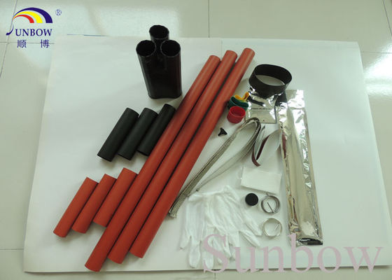 Chine 11kV Heat Shrink Cable Joints Cable Accessories for 3 Core XLPE Cables fournisseur